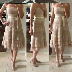 Gorgeous BCBG strapless dress